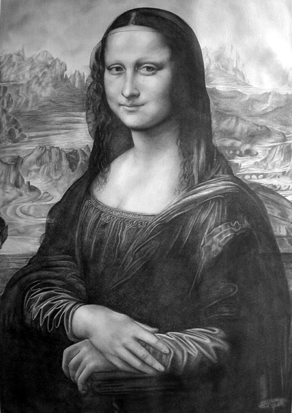 Mona Lisa by Domine